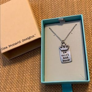Lisa Leonard necklace brand new. Sterling silver.